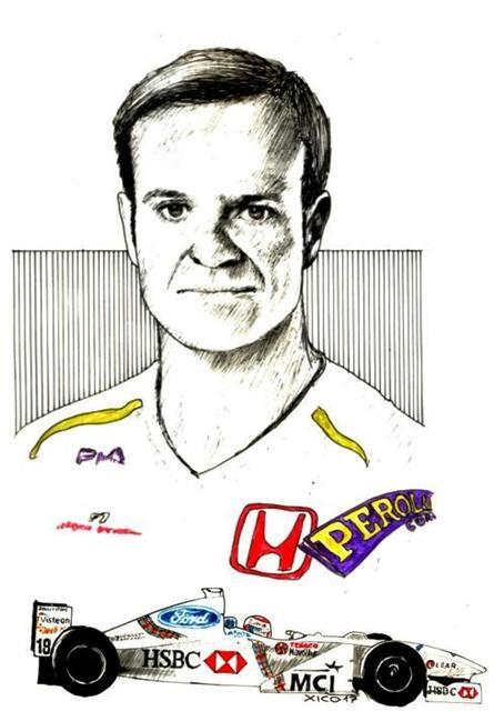 Rubens Barrichello by FCARLOS